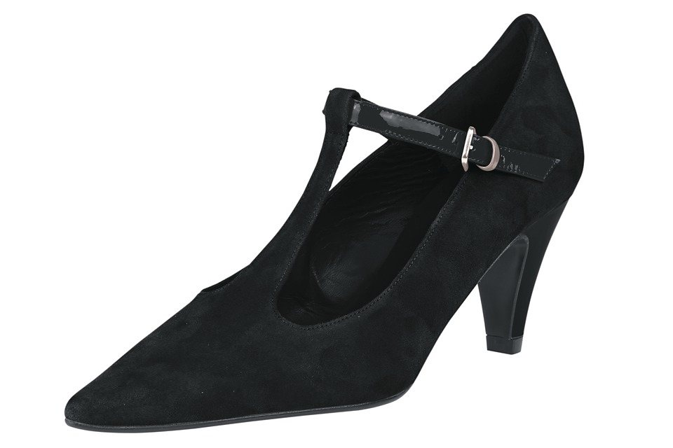 Heine Pumps in schwarz