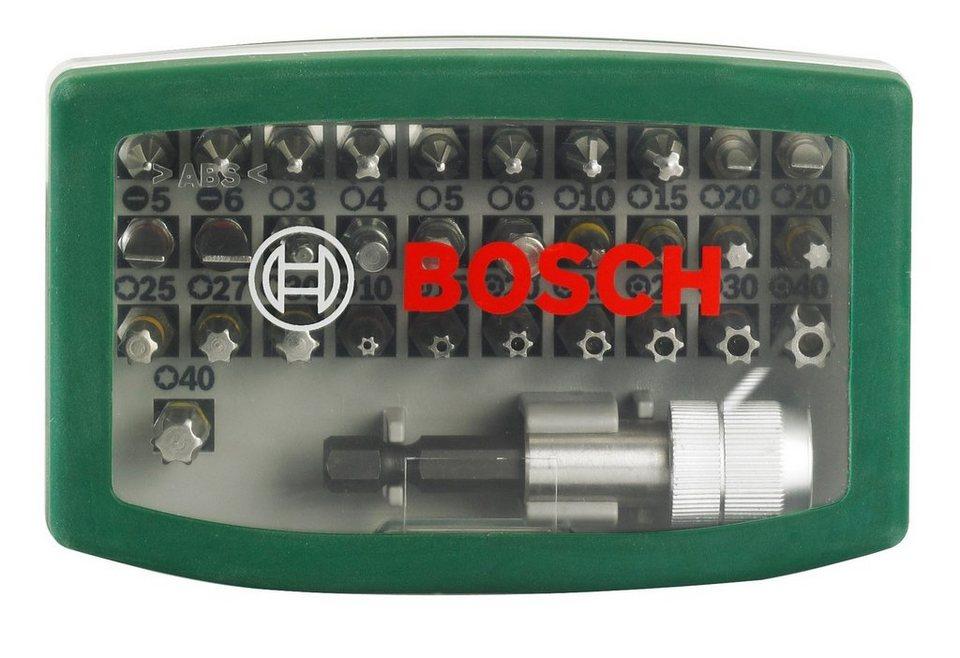 Schrauber Bit-Set, 32-tlg. in grün