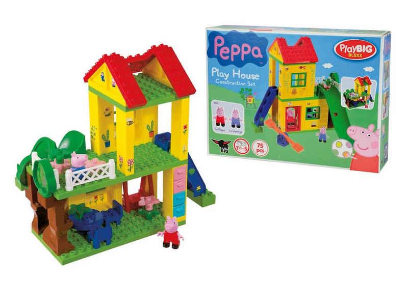 BIG Konstruktions-Spielset »BIG-Bloxx Peppa Wutz Play House«, (75 St)