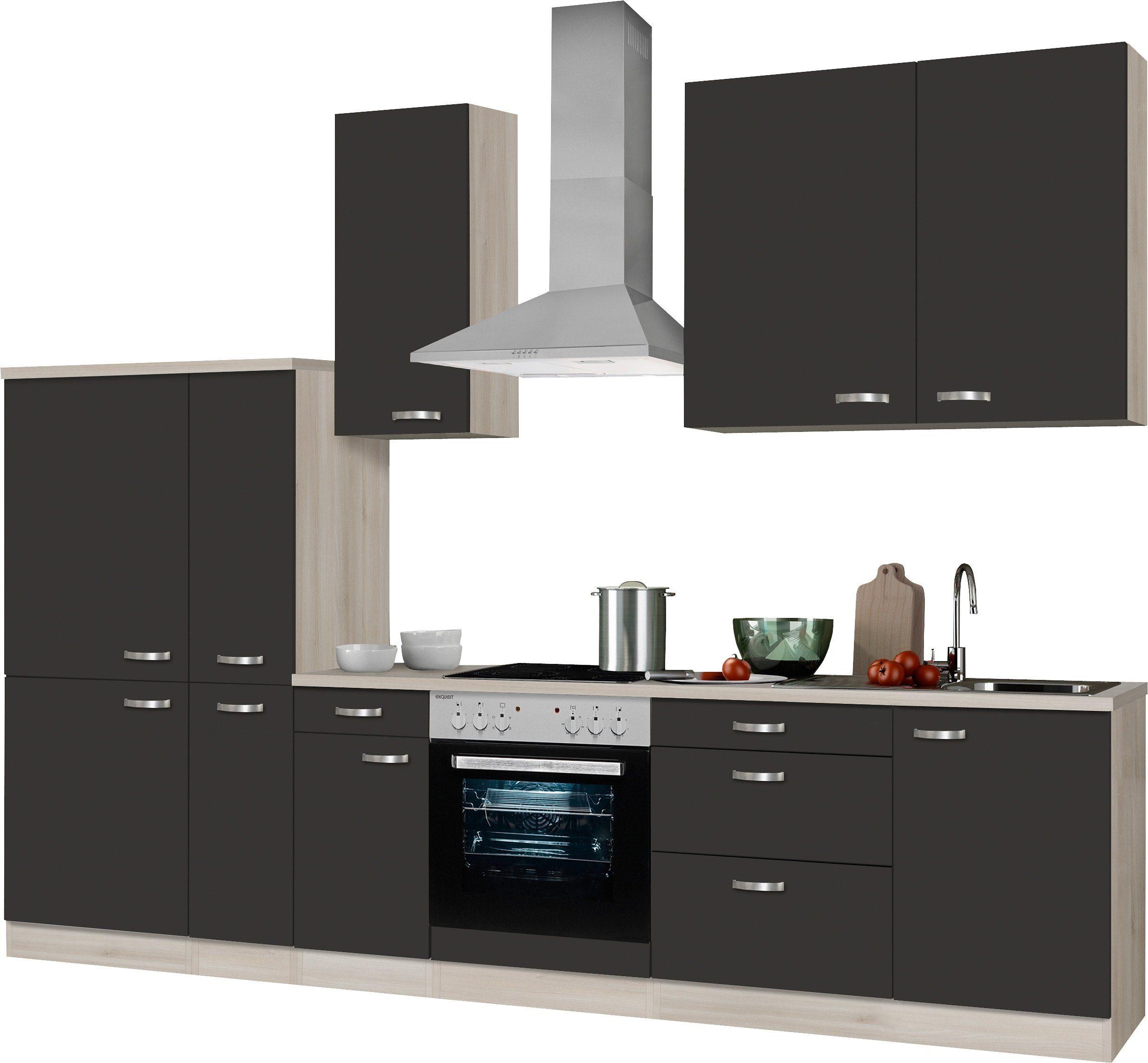 Küchenzeile ohne E-Geräte, Optifit, »Faro«, Breite 300 cm online ...