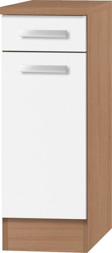 OPTIFIT Unterschrank »Odense« 30 cm breit, mit 1 Tür und 1 Schubkasten, mit 28 mm starker Arbeitsplatte