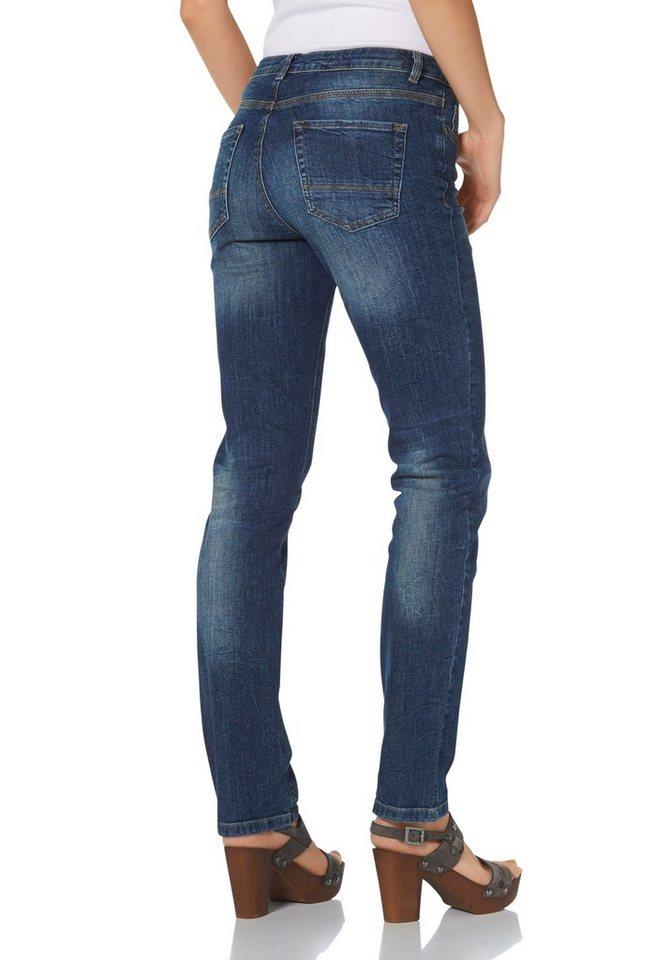 Arqueonautas 5-Pocket-Jeans in dark-blue