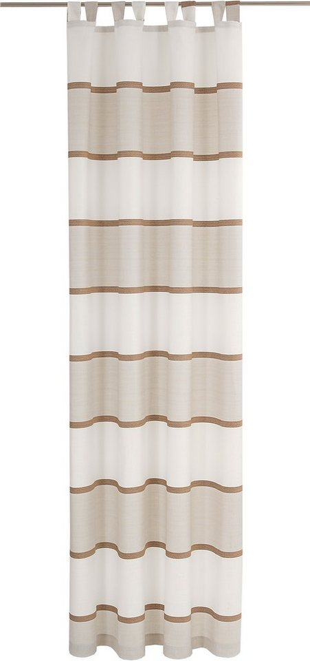 Vorhang, Deko Trends, »Naturo« (1 Stück) H/B: 245/142 cm in natur/sand/braun