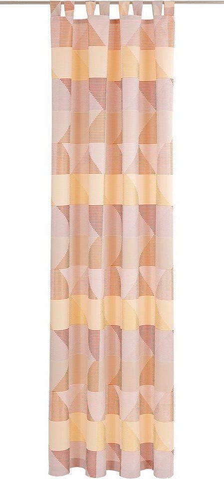 Vorhang, Deko Trends, »Eckolo« (1 Stück) in sand/ecru/gelb