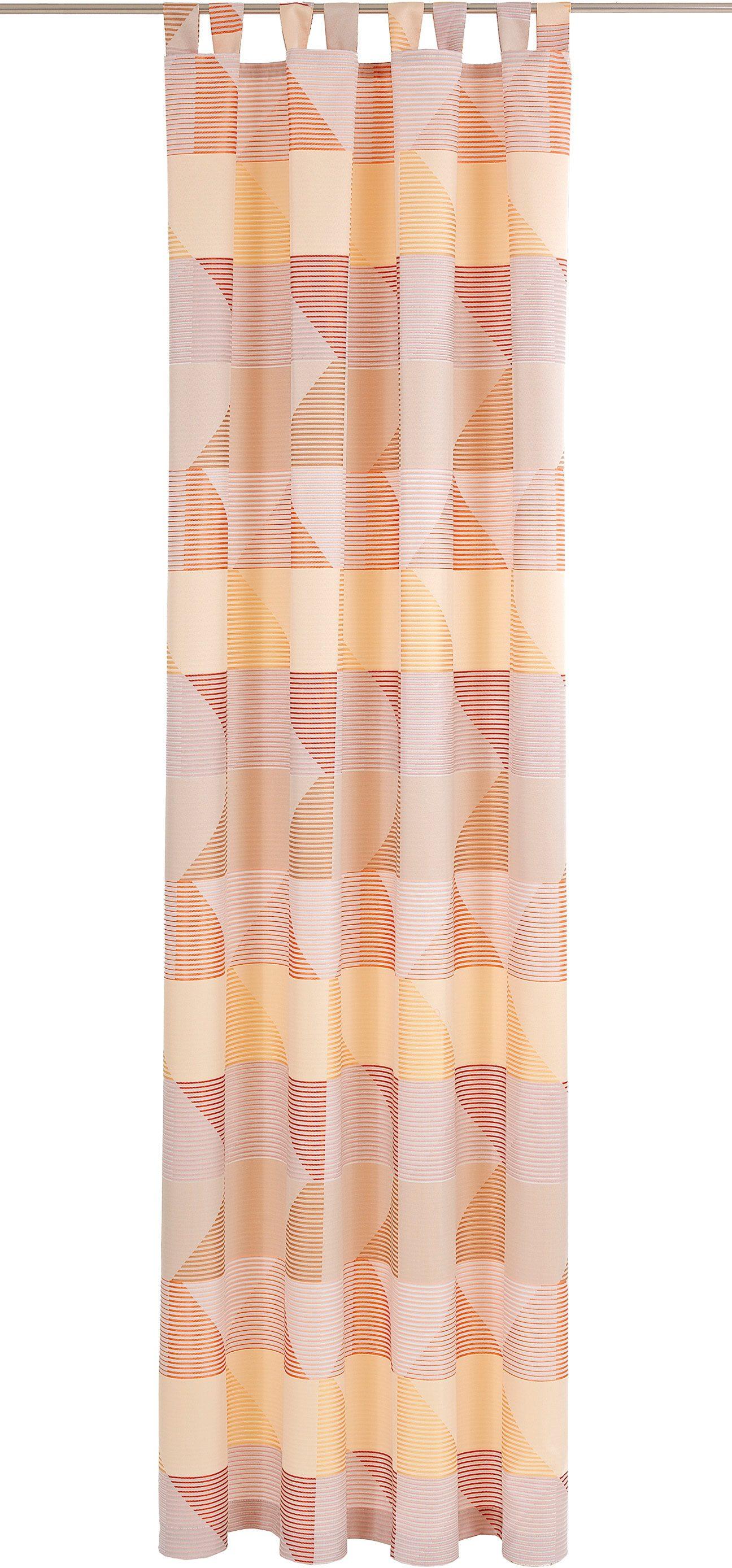 Vorhang, Deko Trends, »Eckolo«, mit Schlaufen (1 Stück)