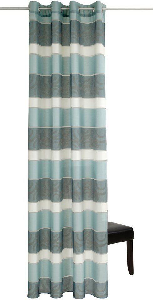 vorhang deko trends colorado mit sen 1 st ck. Black Bedroom Furniture Sets. Home Design Ideas