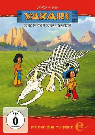 DVD »Yakari - Der Zorn des Bisons«