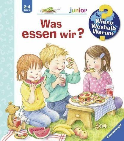Gebundenes Buch »Was essen wir? / Wieso? Weshalb? Warum? Junior...«