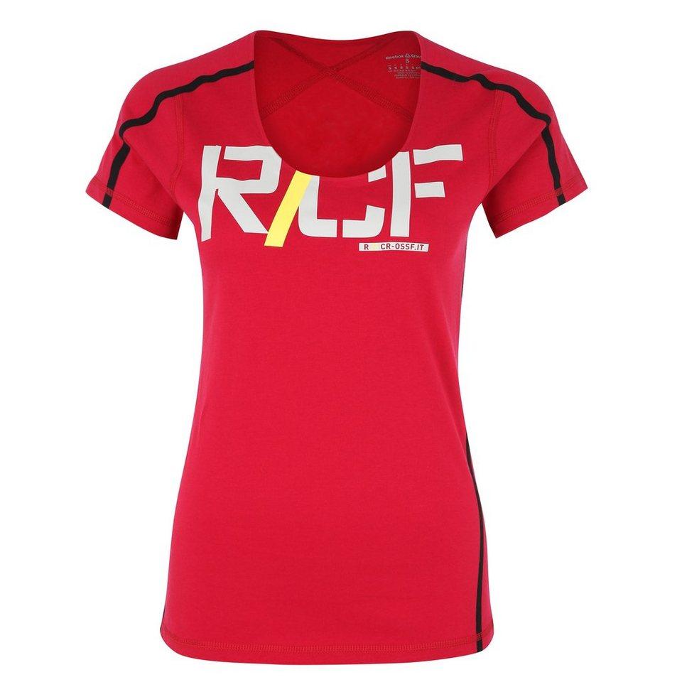 REEBOK CrossFit Performance Trainingsshirt Damen in rot