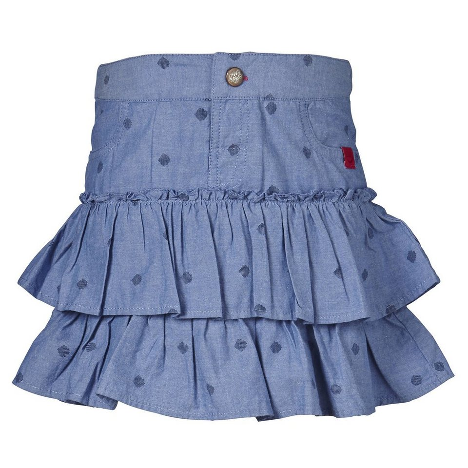 "LEGO Wear Friends Rock ""Volants"" Skirt Dania in denim light blue"
