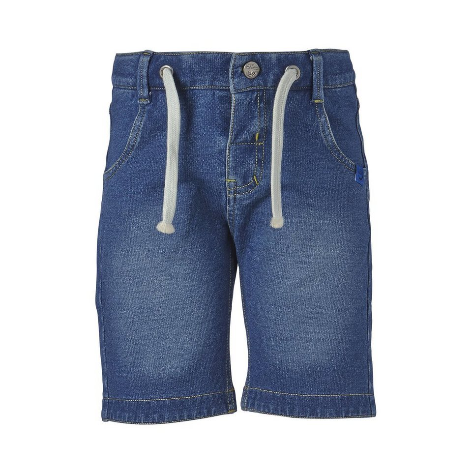 "LEGO Wear Sweatshorts Preston ""UNI"" Hose Shorts in denim blue"