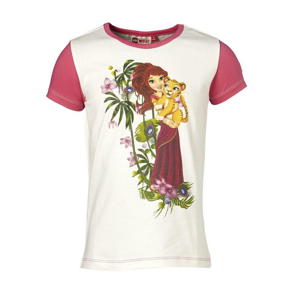 """LEGO Wear Friends T-Shirt Tanisha """"Animal Love"""" Shirt in pink"""