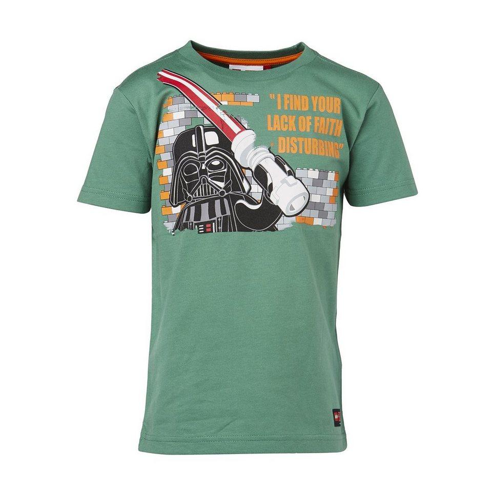 "LEGO Wear STAR WARS(TM) Kurzarm-T-Shirt Timmy ""I find your Lack of faith d in grün"