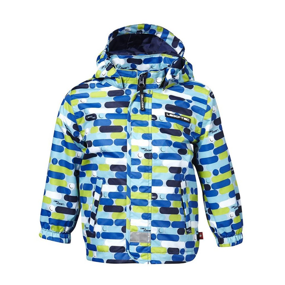 "LEGO Wear Summer Tec Jacke Jack 5000 mm Wassersäule ""Mix and Match"" in blau"