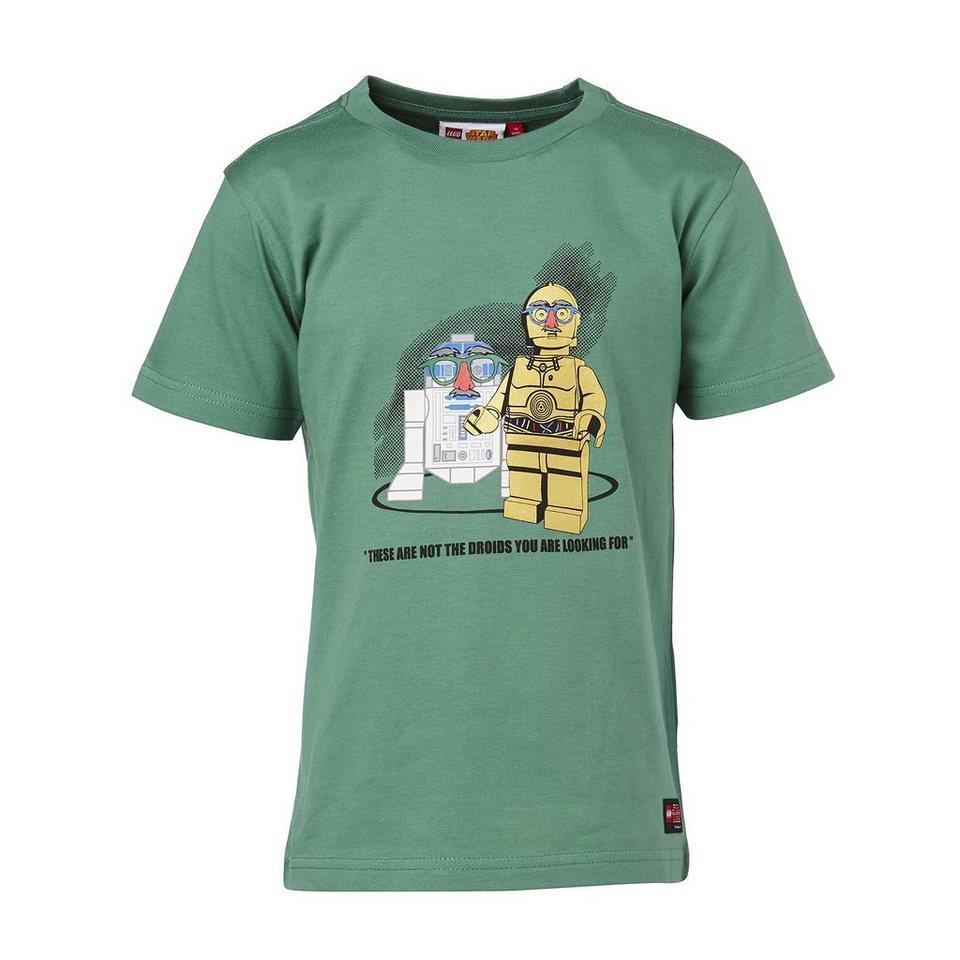 "LEGO Wear STAR WARS(TM) Kurzarm-T-Shirt Timmy ""These are not the Droids yo in grün"