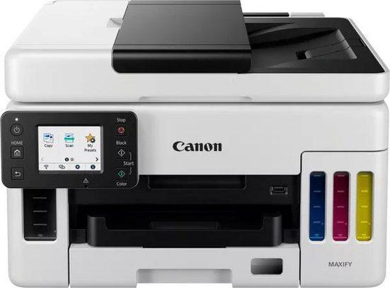Canon MAXIFY GX6050 Tintenstrahldrucker, (LAN (Ethernet), WLAN (Wi-Fi)