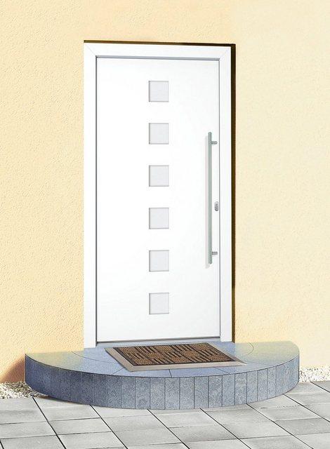 RORO Aluminium-Haustür »Italien«, nach Wunschmaß, Anschlag rechts oder links | Baumarkt > Modernisieren und Baün | RORO Türen & Fenster