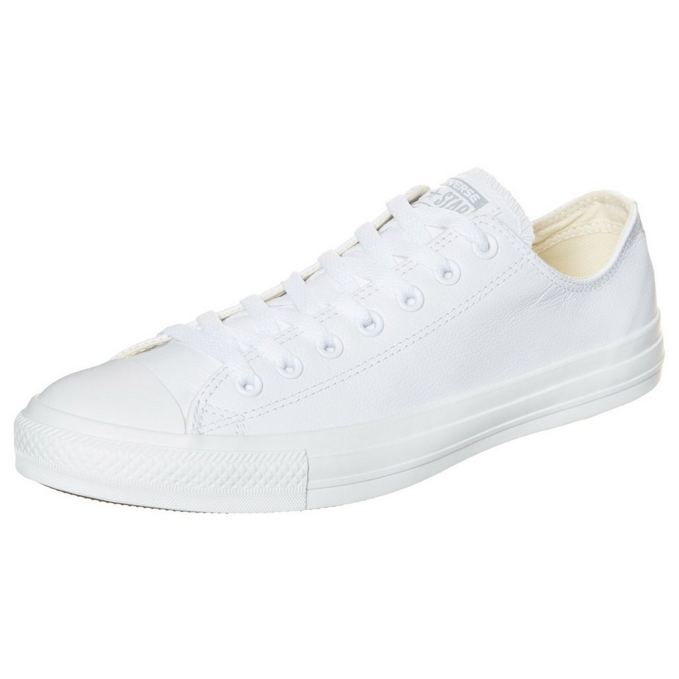 CONVERSE Chuck Taylor All Star Core OX Leather Sneaker in weiß