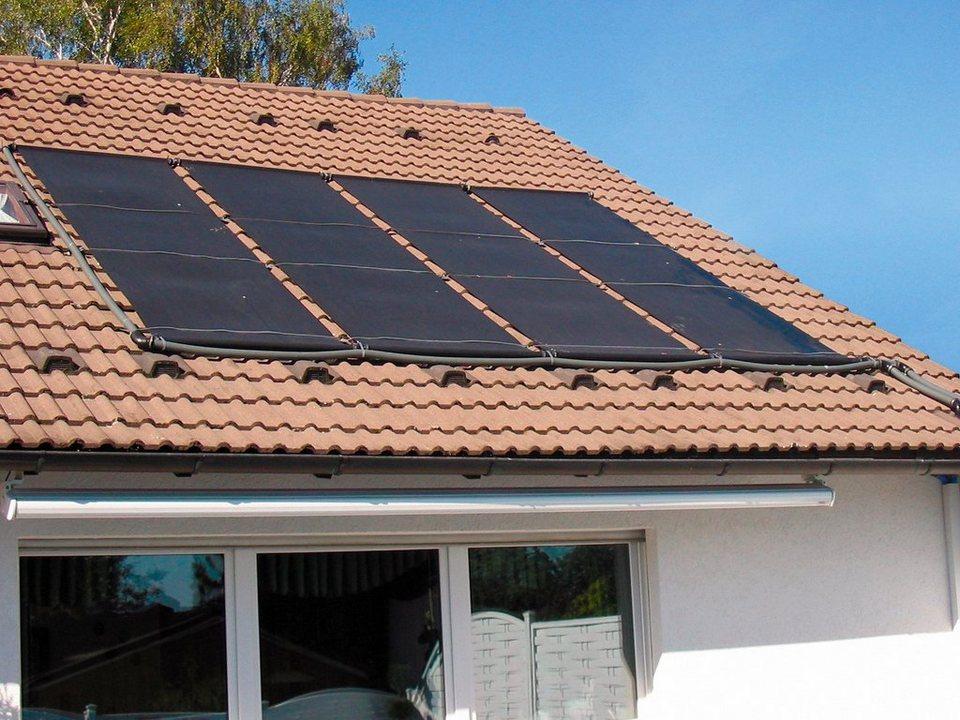 Solarabsorber »Solarabsorber-Set, inklusive 2 Absorbermatten« in schwarz