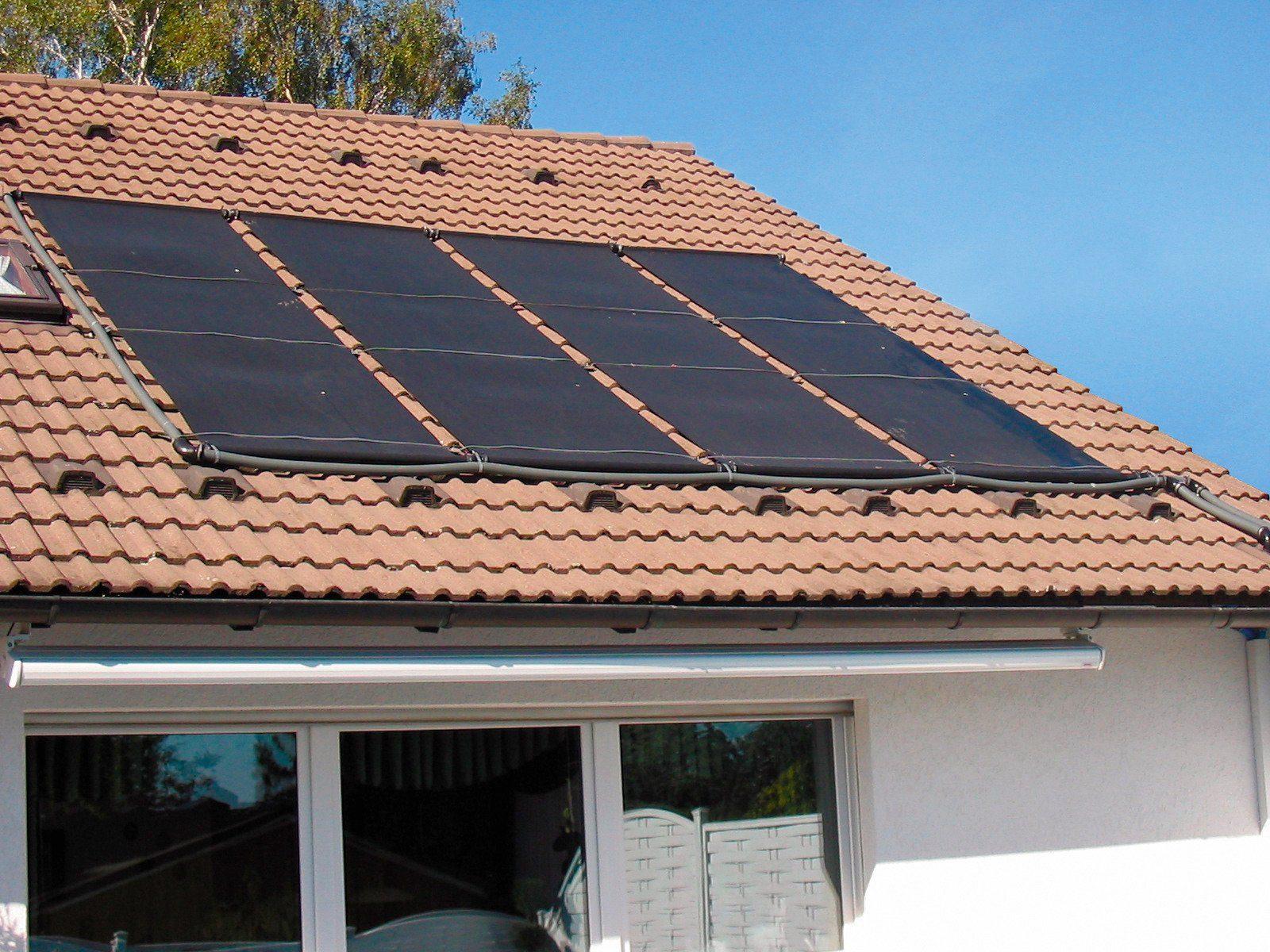 Solarabsorber »Solarabsorber-Set, inklusive 2 Absorbermatten«