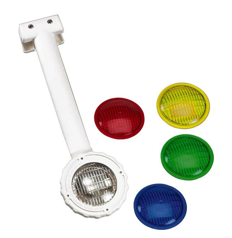Unterwasser Scheinwerfer »Einhänge-Unterwasser-Halogen-Scheinwerfer 75 Watt« in weiß
