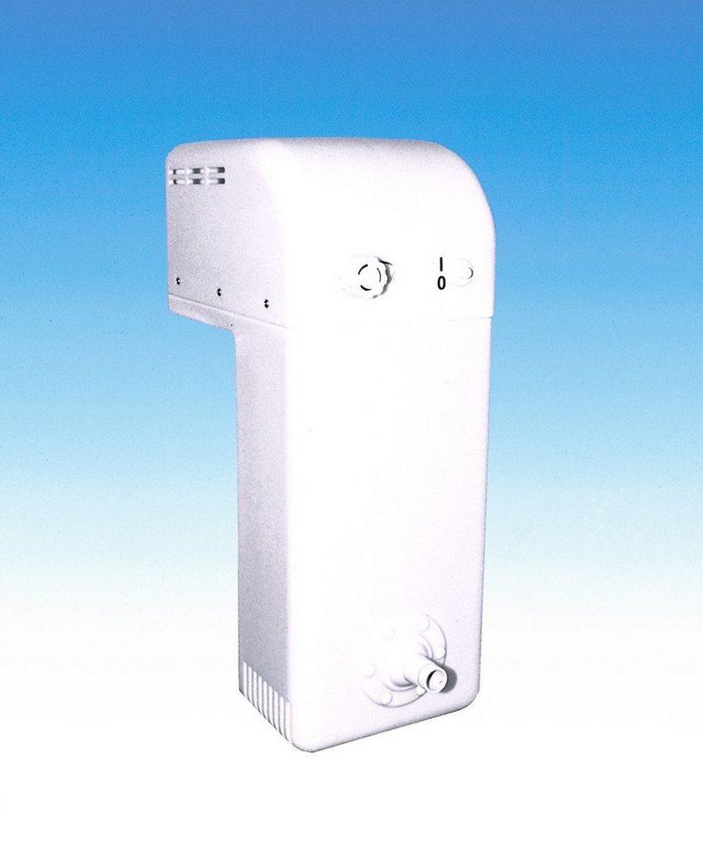Gegenstromanlage in weiß