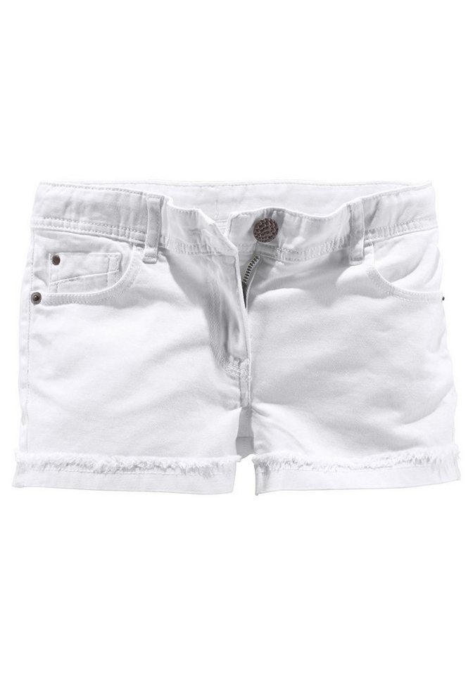CFL Shorts 5-Pocket Stil in weiß