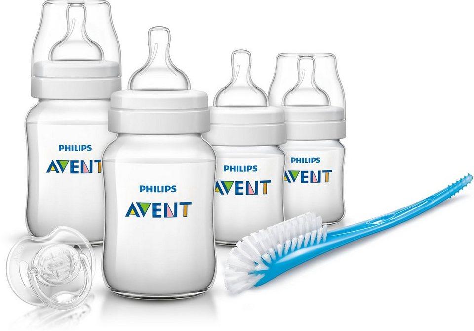 Philips Avent Neugeborenen-Set SCD371/00 KlassikPlus, weiß in weiß