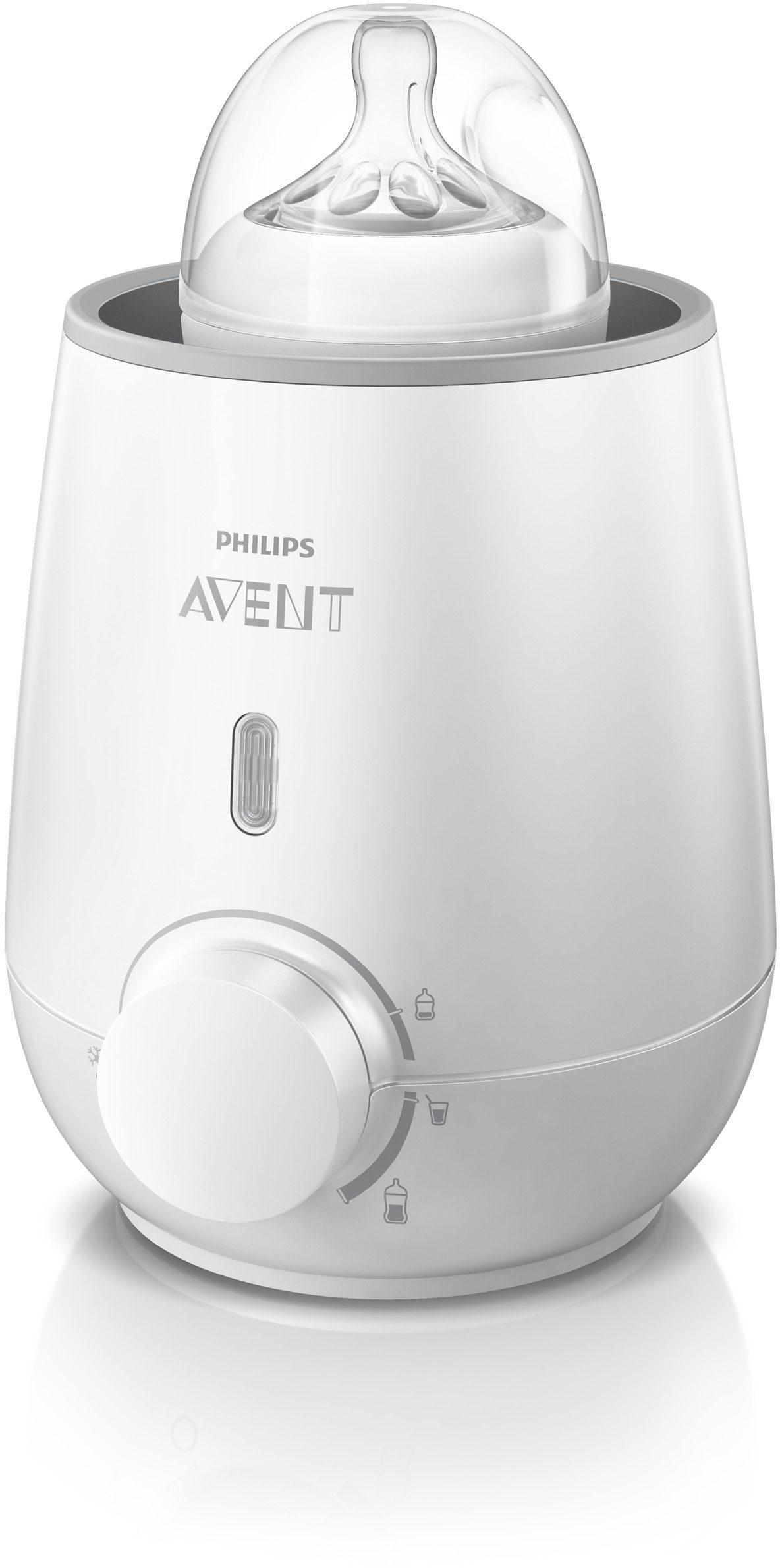 Philips Avent Fläschchen- und Babykostwärmer SCF355/00, weiß
