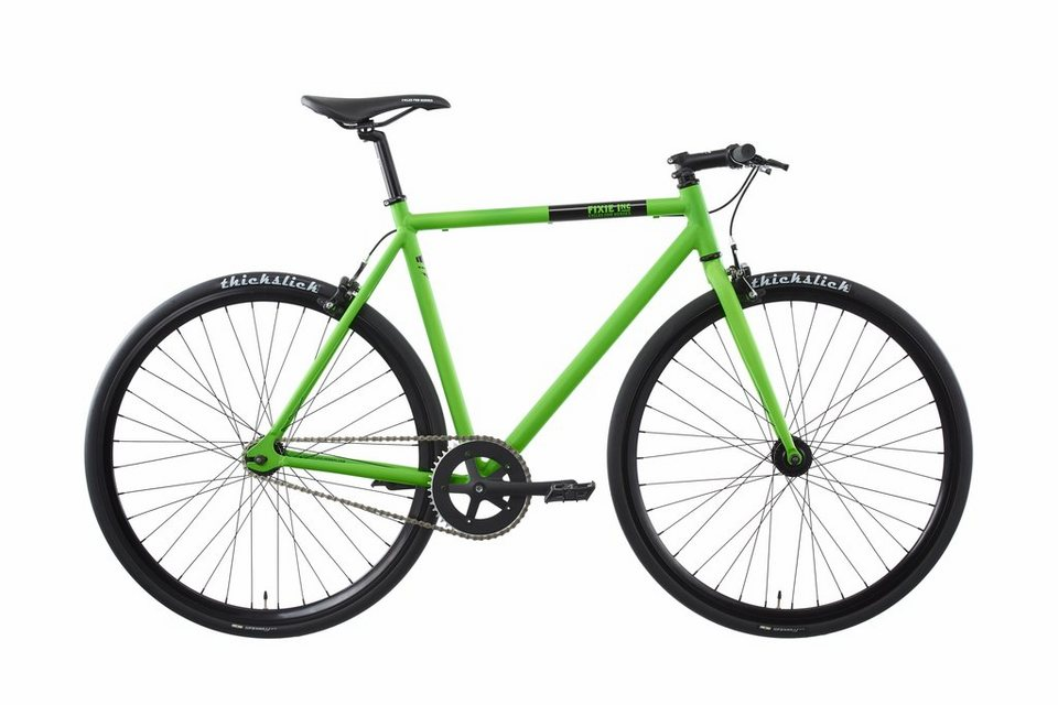 FIXIE Inc. Fahrrad »Floater green« in grün
