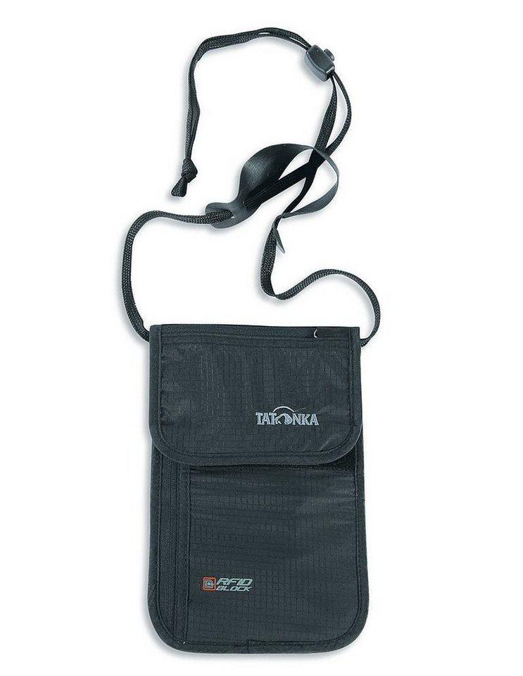 Tatonka Wertsachenaufbewahrung »Skin Neck Pouch RFID B« in schwarz