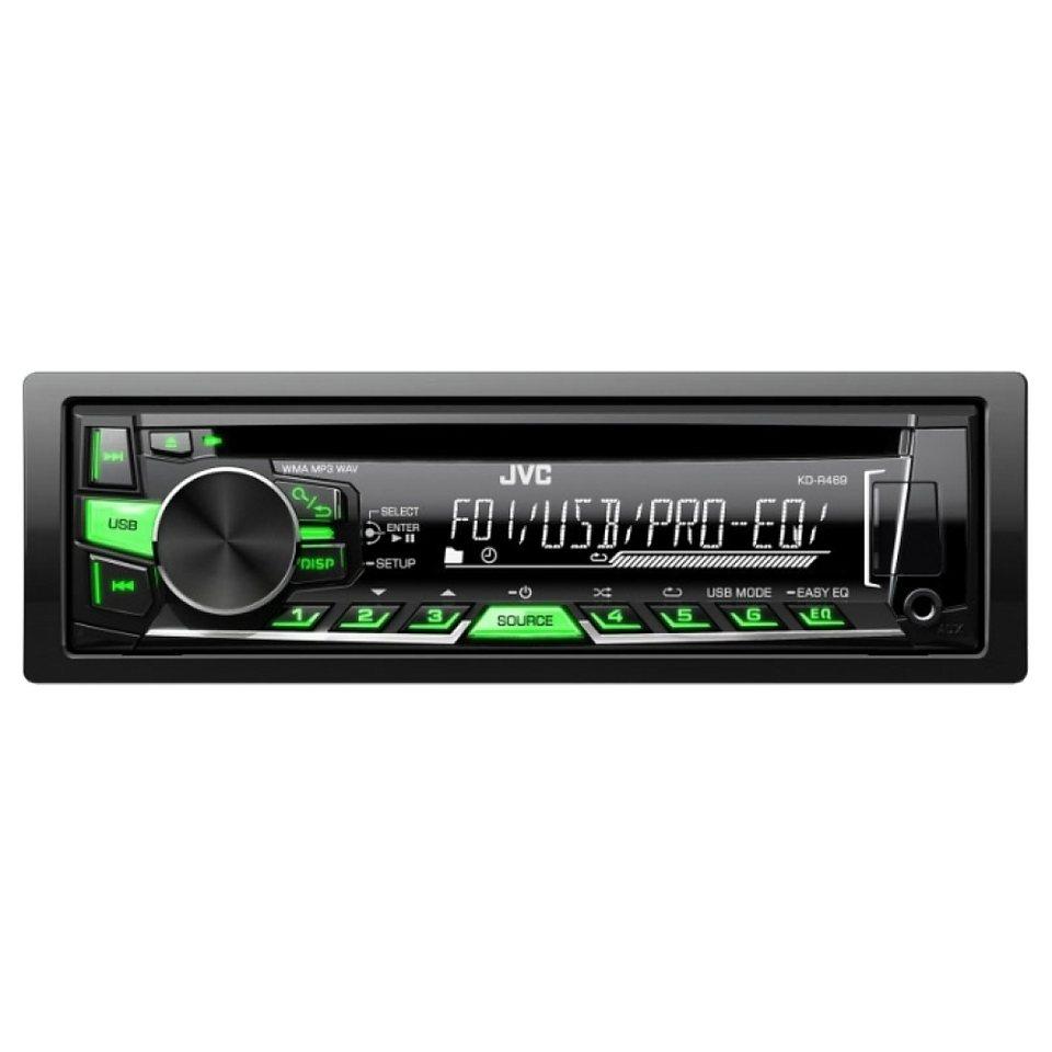 JVC 1-DIN USB/CD-Receiver mit RDS »KD-R469E« in schwarz