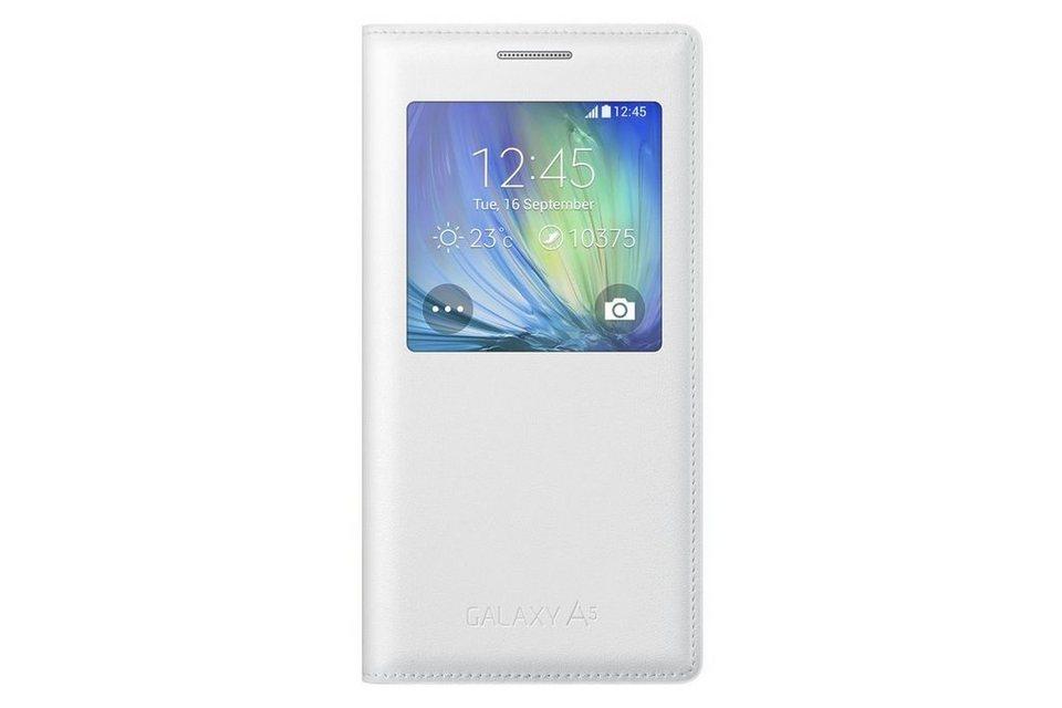 Samsung Handytasche »S-View Cover EF-CA500 für Galaxy A5, Weiß« in Weiß
