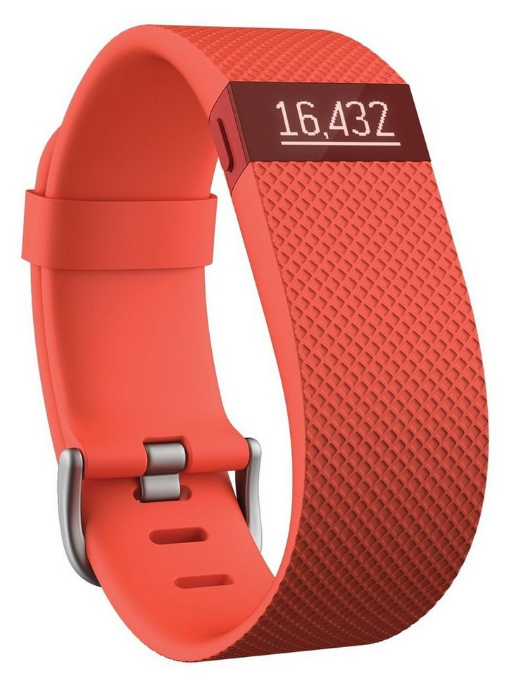 fitbit Activity Tracker »CHARGE HR (L)« in Orange