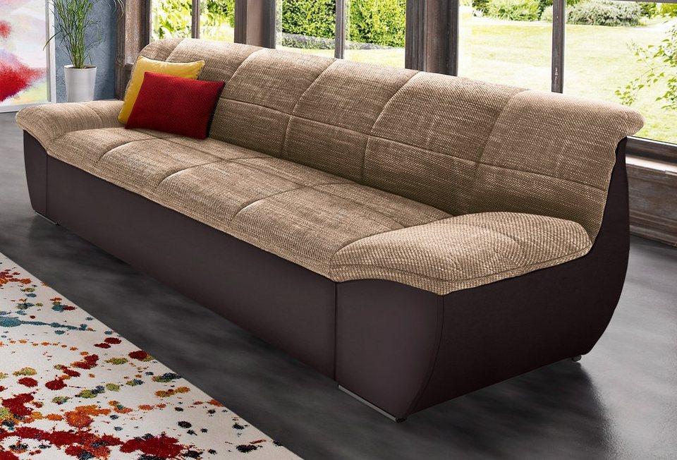 domo collection 3 sitzer individuell zu kombinieren online kaufen otto. Black Bedroom Furniture Sets. Home Design Ideas