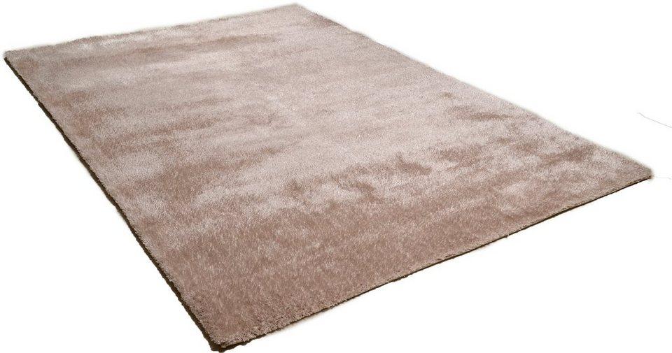 Hochflor-Teppich, Theko, »Vido«, Höhe 32 mm in beige