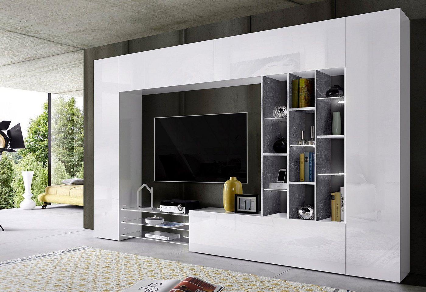 Designer wohnwand preisvergleiche erfahrungsberichte for Suche wohnwand