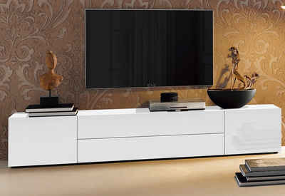 tv lowboard holz wei. Black Bedroom Furniture Sets. Home Design Ideas