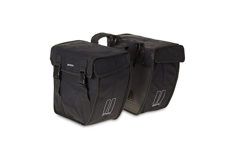Basil Gepäckträgertasche »Kavan Rounded Doppeltasche XL«