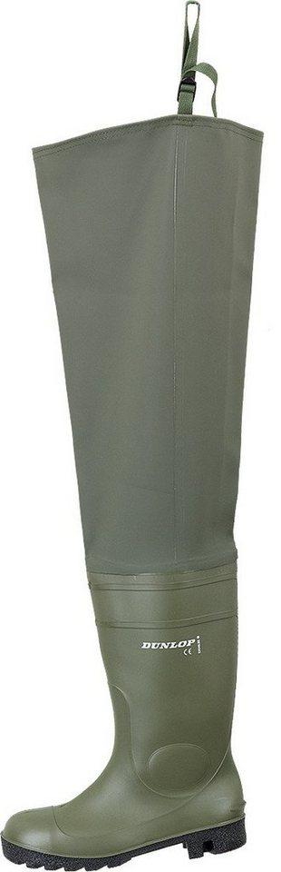 Dunlop Gummistiefel in olivfarben