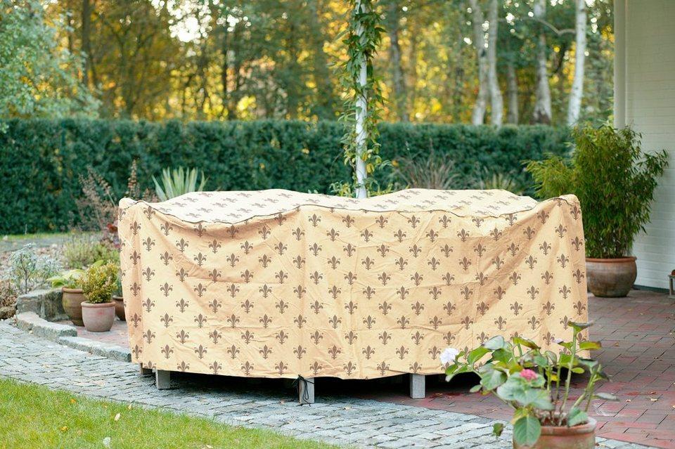 Videx Schutzhülle »rechteckig«, Gartenmöbelset, (L/B/H) 295x210x80 cm