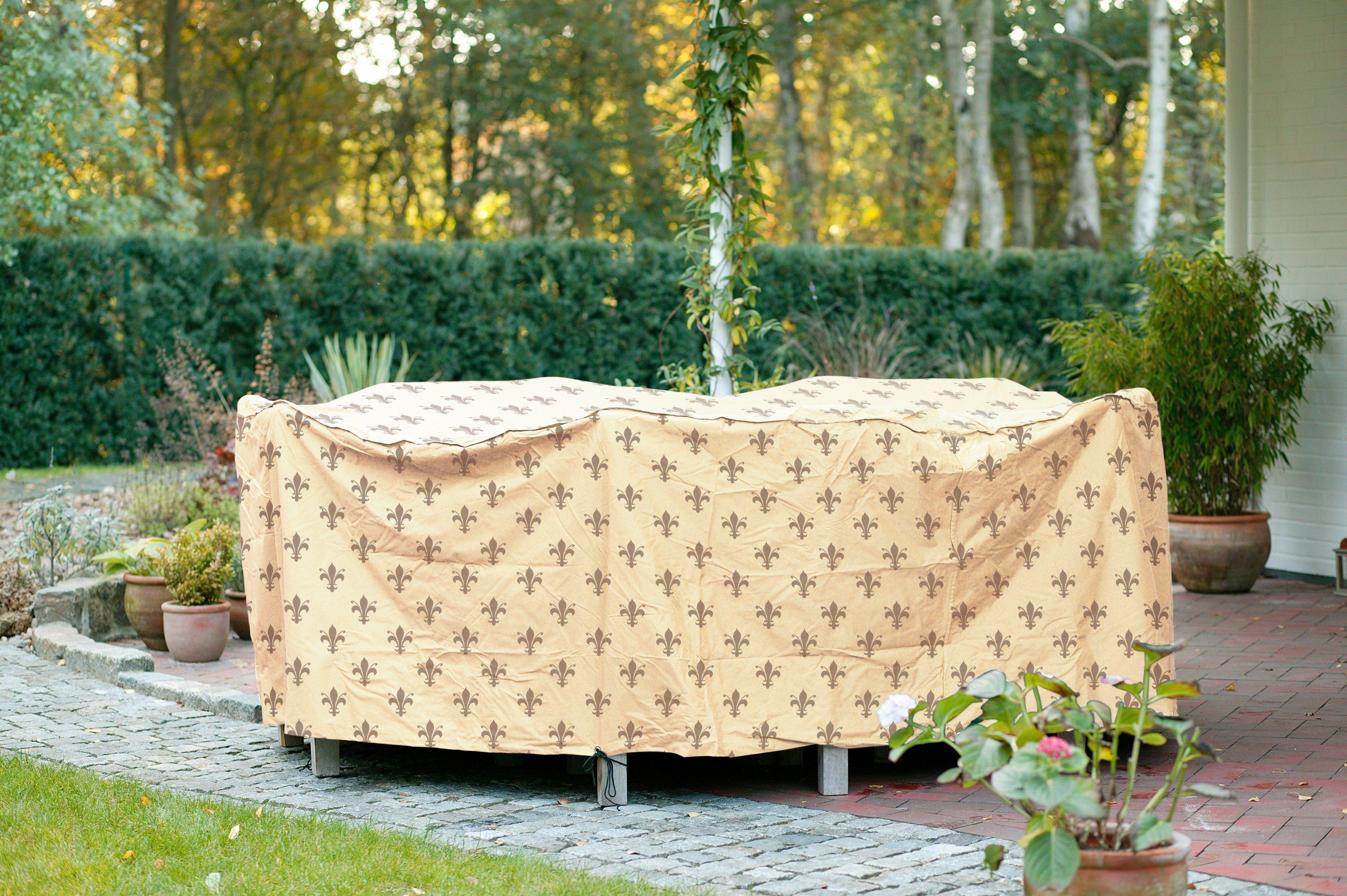 Videx Schutzhülle »Rund«, Gartenmöbelset, Ø 250 cm H 80 cm