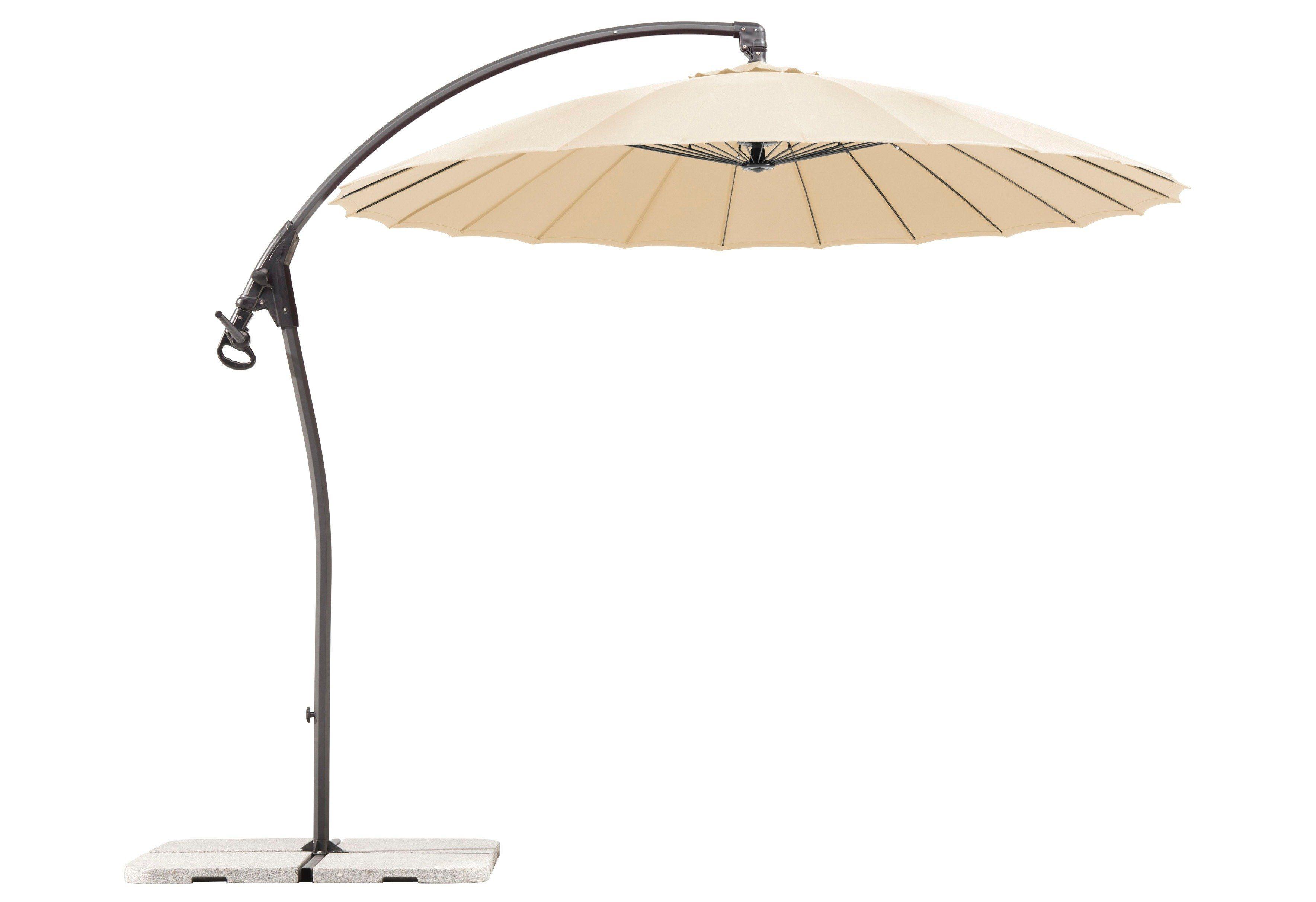 SCHNEIDER SCHIRME Ampelschirm »Lotus«, Ø 270 cm