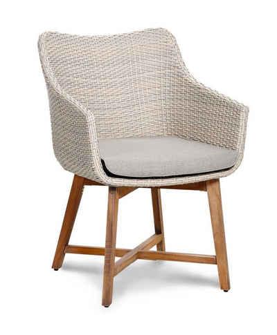gartenst hle rattan grau. Black Bedroom Furniture Sets. Home Design Ideas