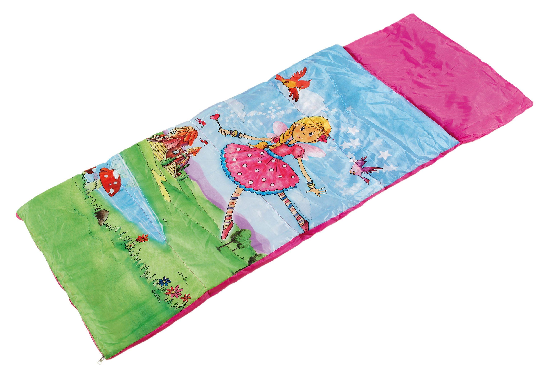 Royalbeach® Schlafsack für Kinder in pink mit Aufdruck, »Fee«.