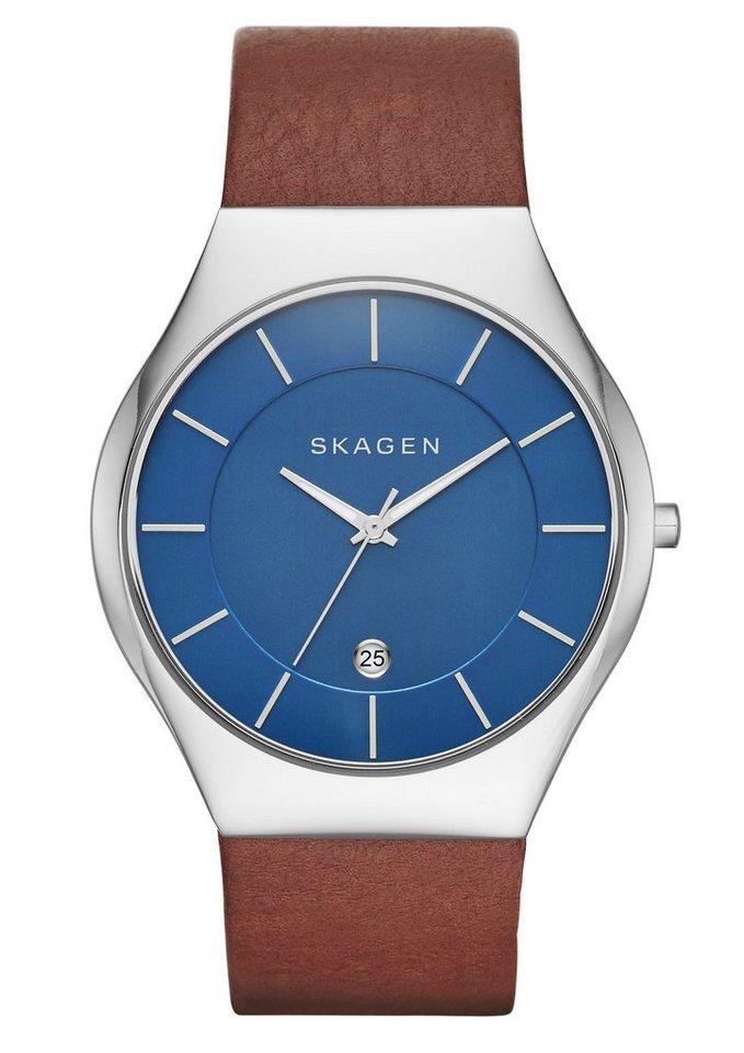 """Skagen, Armbanduhr, """"GRENEN, SKW6160"""" in braun"""