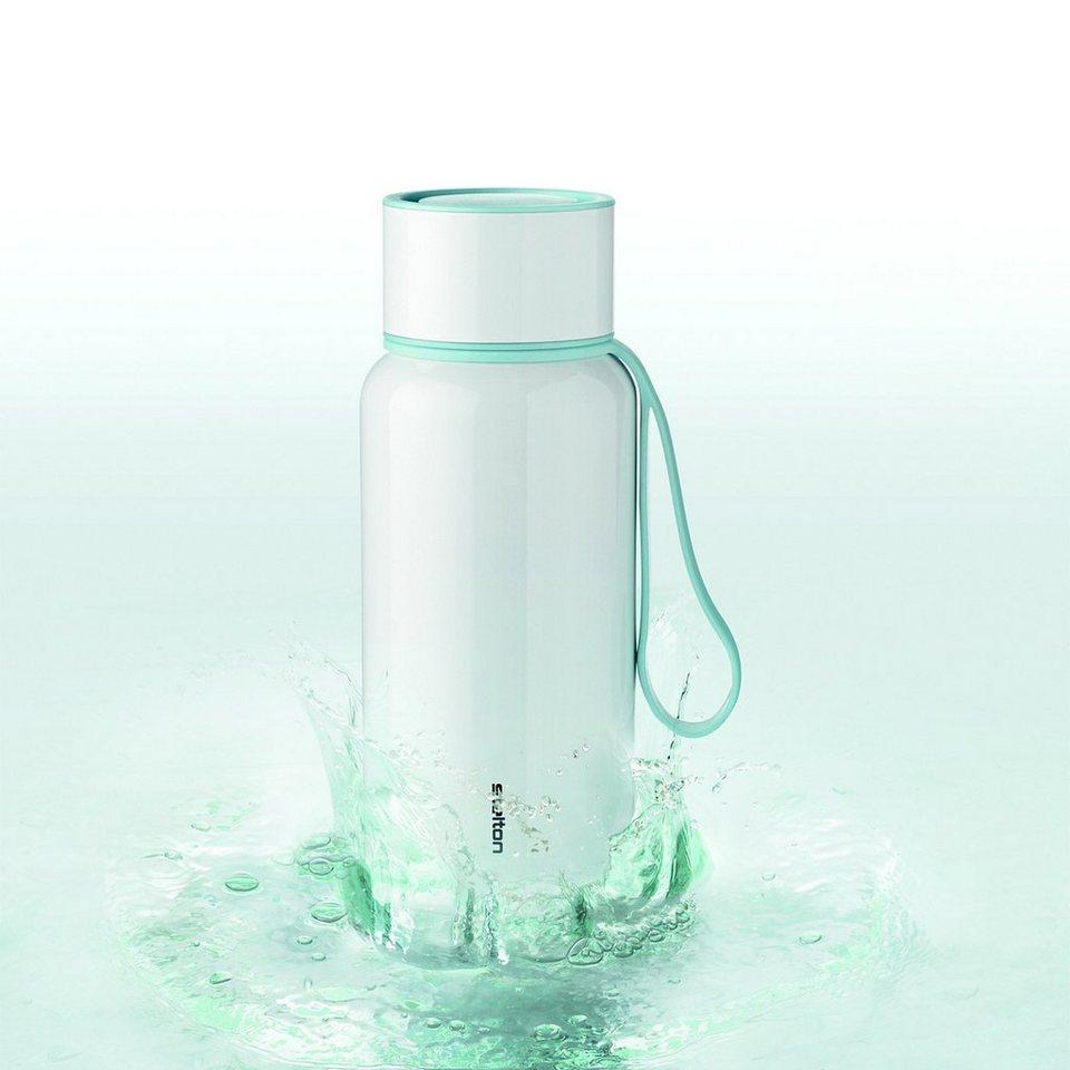 STELTON Stelton Trinkflasche To Go Water 0.75 l aqua in weiß / hellblau
