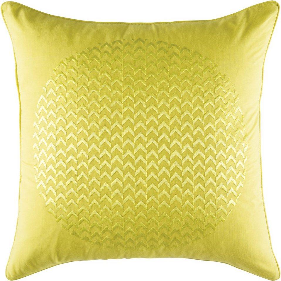 Dekokissen, KAS, »Spot«, dezente Paspel in gelb