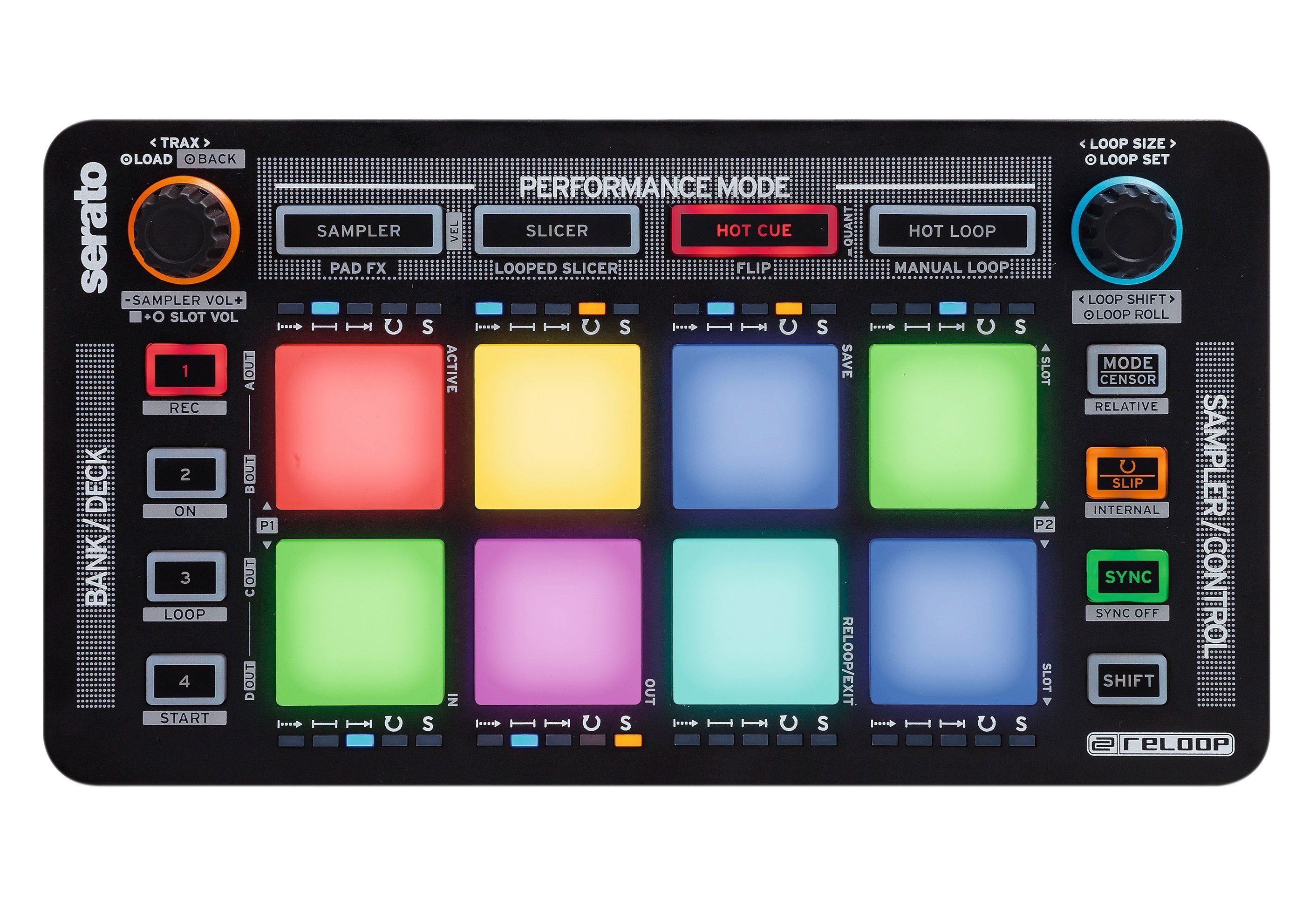 DJ-Pad-Controller für Serato DJ, »NEON«, Reloop