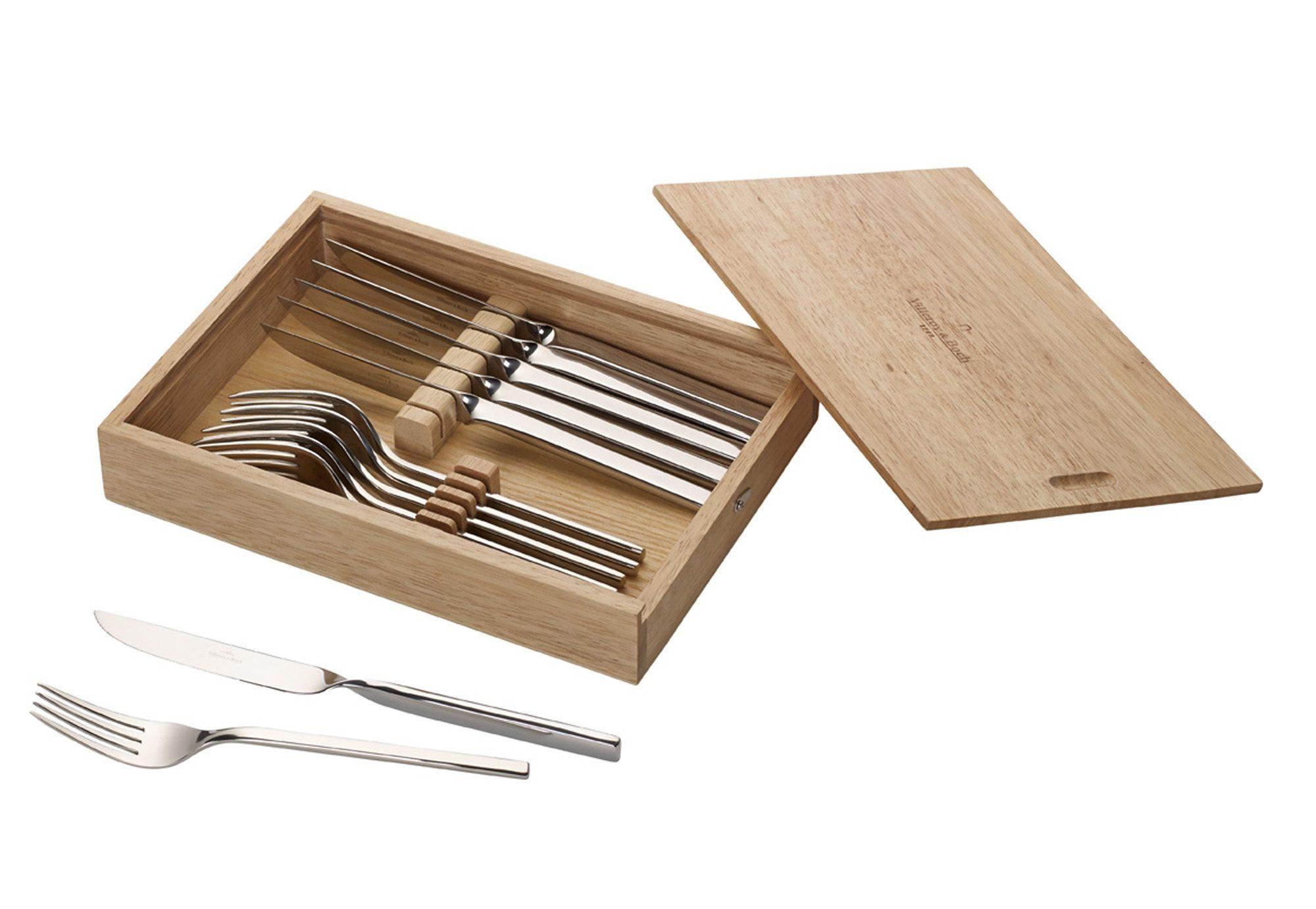 Steakbesteck-Set, Villeroy & Boch, »New Wave« (12-tlg.)